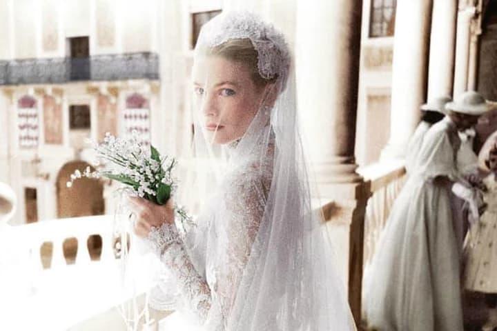 mariage du prince Rainier et Grace Kelly